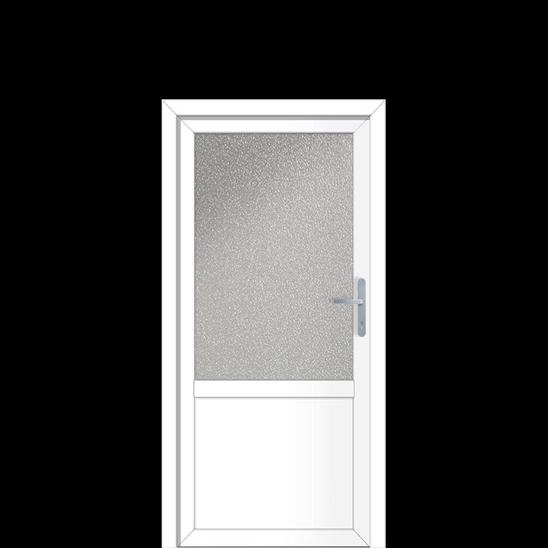 Aluminium Nebeneingangstür Düren