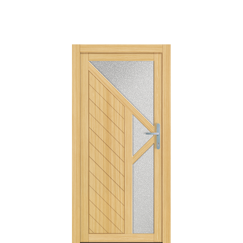 Holz Nebeneingangstür Dormagen