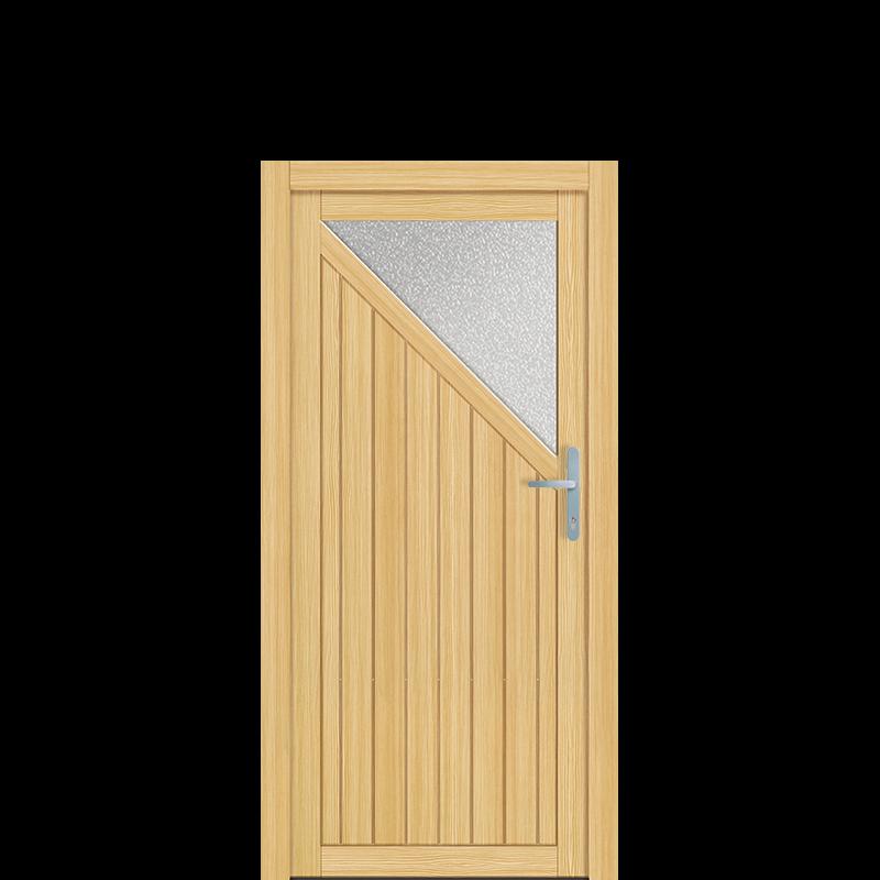Holz Nebeneingangstür Landshut
