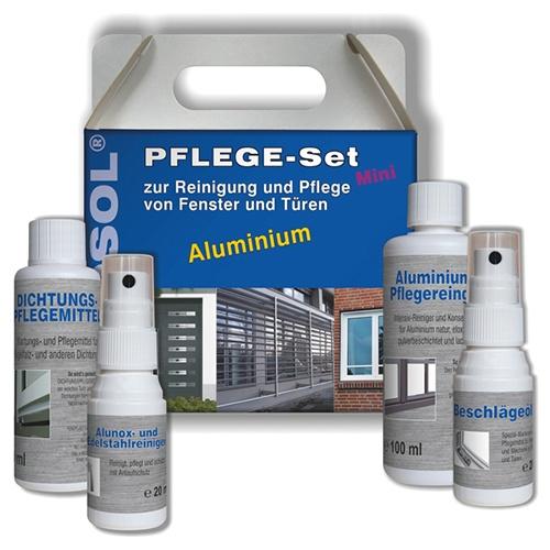 FENOSOL MINI Pflegeset Aluminium