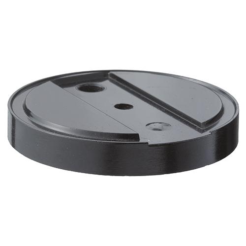 gelbrot Unterlegplatte für Bodentürpuffer