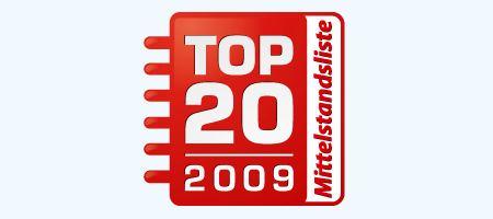Top 20 Mittelstandsliste
